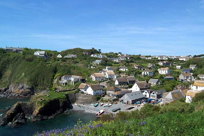 Cadgwith is a pretty fishing village on the Lizard Peninsula in Cornwall.