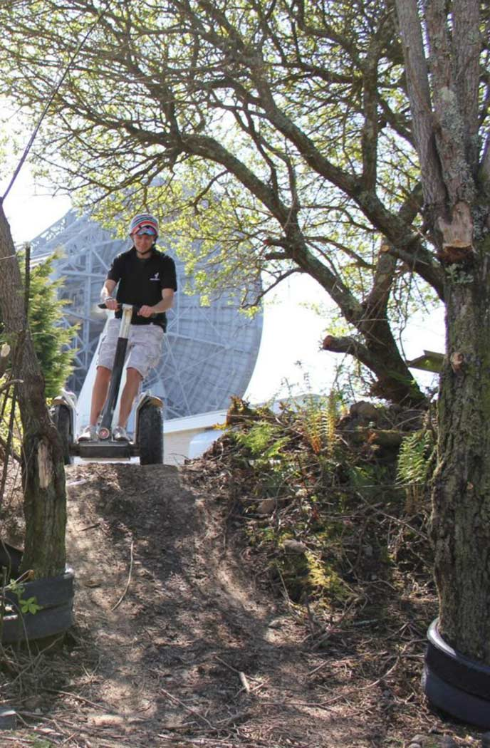 Cornwall segway is an exciting way to see the sites of Goohilly.
