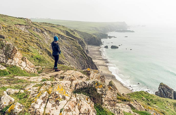 Pentreath is a picturesque and private beach, perfect for a walking pit stop.