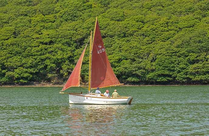 Explore the Helford on the water for the most beautiful views of this undisturbed part of Cornwall.