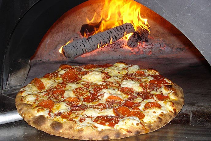 Don't miss out on the pizza at Roskillys.