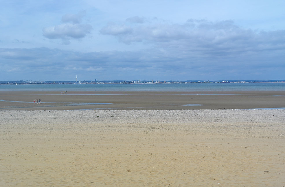 The beach at Ryde - Appley Sands