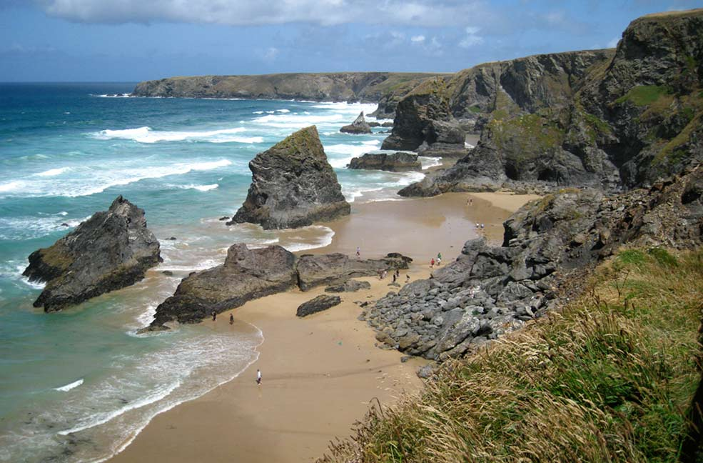 Bedruthan Steps by H Spurway