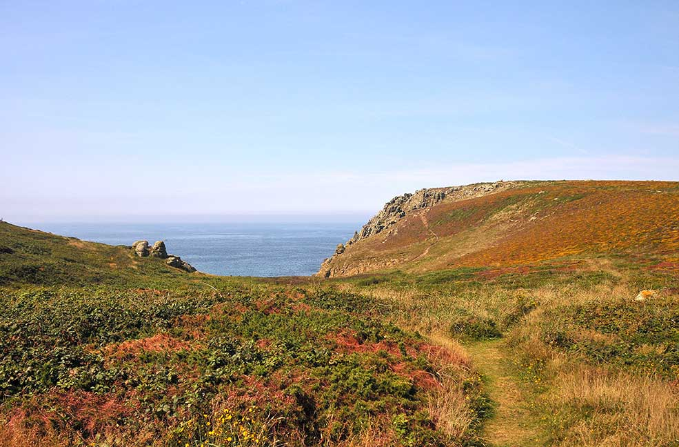 Penwith Peninsula Tour Map