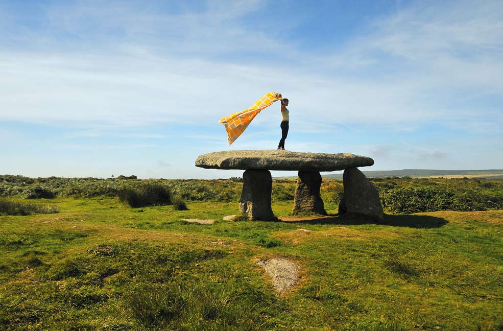 Yoga at Lanyon Quoit