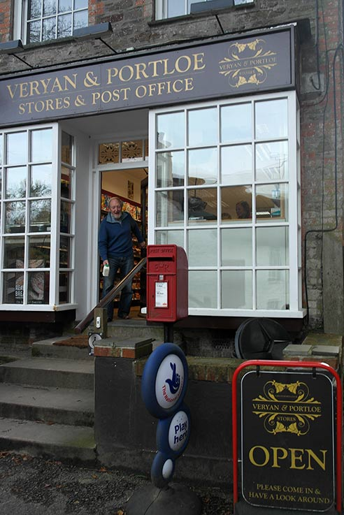Veryan post office