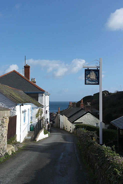 Pub with a sea view