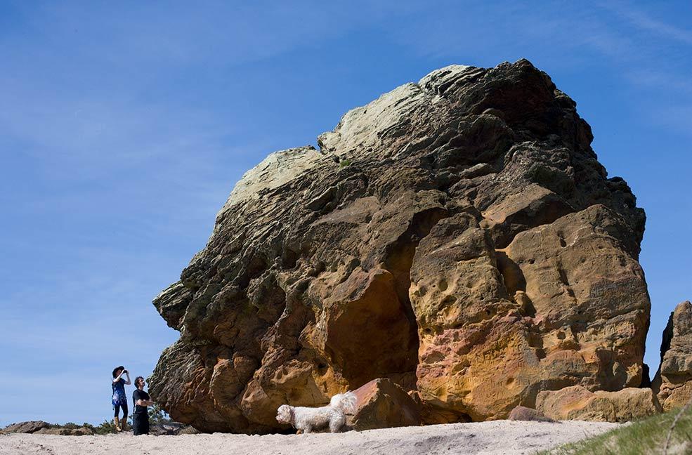 Agglestone Rock figure of eight walk