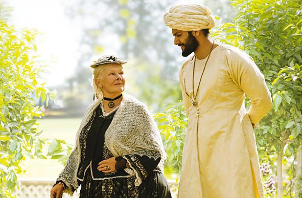 Dame Judi Dench stars as Queen Victoria in Victoria and Abdul. Filmed on the Isle of Wight in the Queen's home, Osborne House.