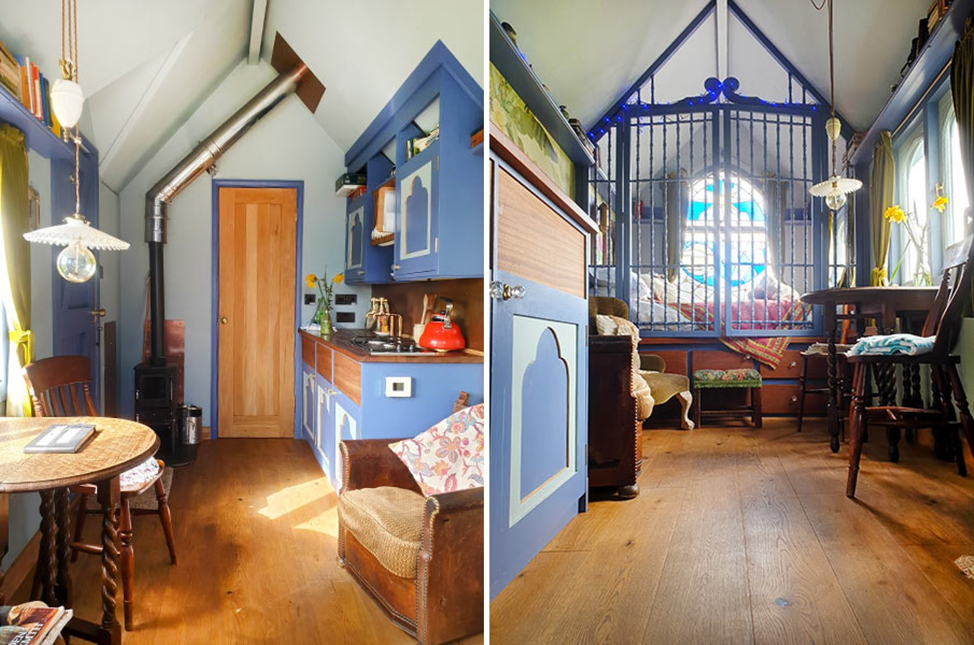 Tabernacle Farrow and Ball paint and wood floor