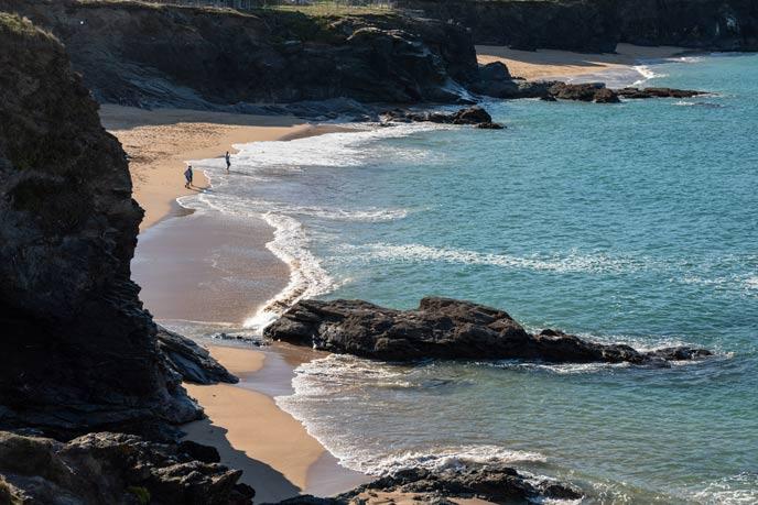 Smugglers coastline