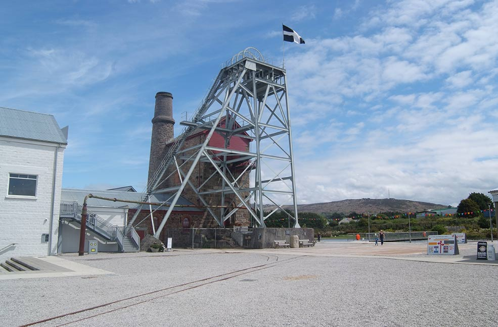 Heartlands mining attraction in Cornwall