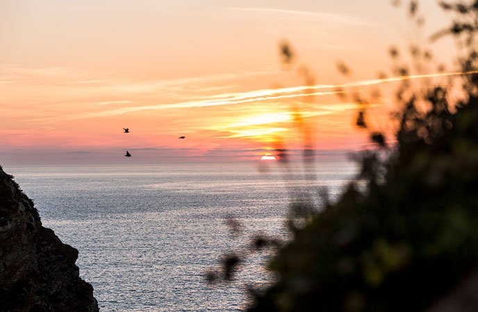 Sunset in Cornwall