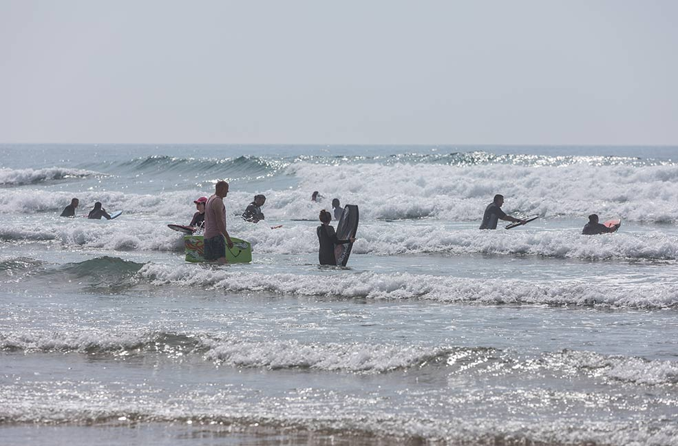 Bodyboarding is the perfect family friendly activity.