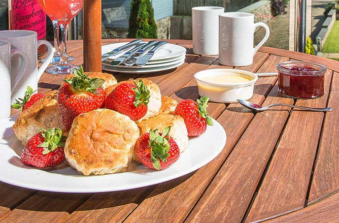 Best Places for Afternoon Tea in Cornwall