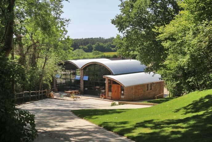 Sedlescombe Organic Vineyard, Sussex