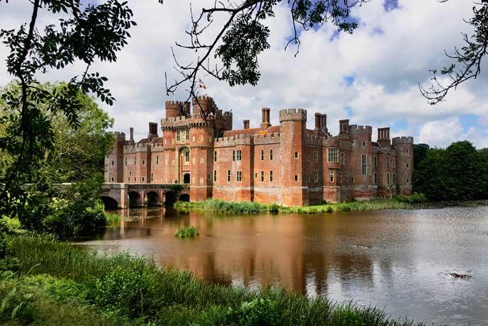 Herstmonyeux Castle, Sussex