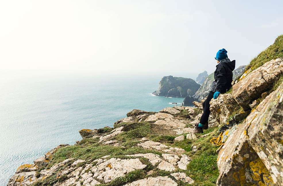 Walking along any stretch of the south west coast path is a great way to see Cornwall.