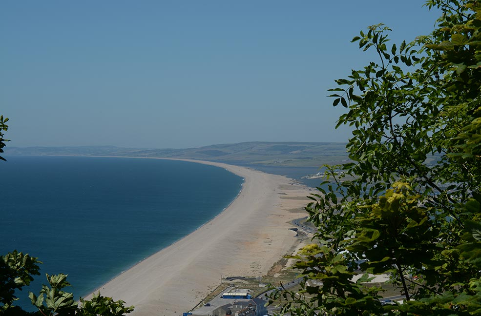 Is there anywhere prettier to go sailing? Chesil beach is a lovely location for a romantic holiday in Dorset.