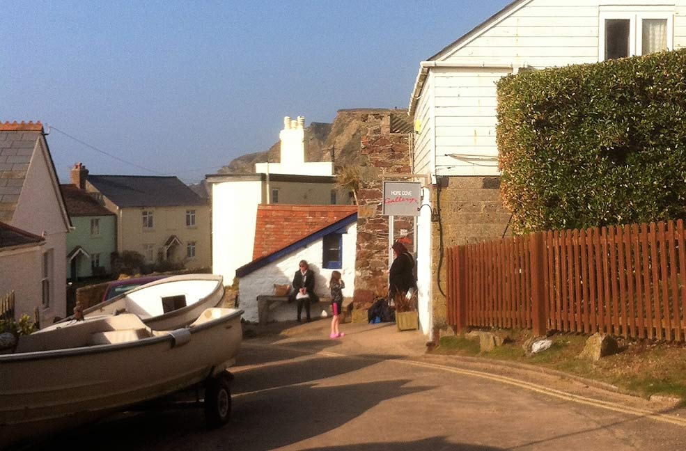 A snapshot of village life in the South Hams: calm, quiet and beautiful.