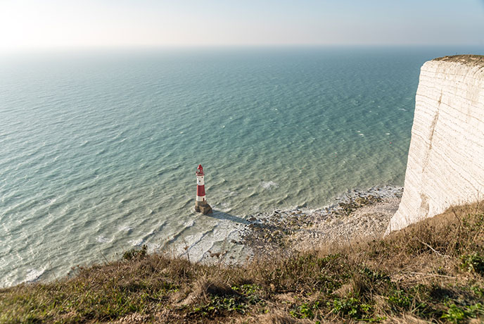 Beachy Head is an iconic location on the Sussex coast.