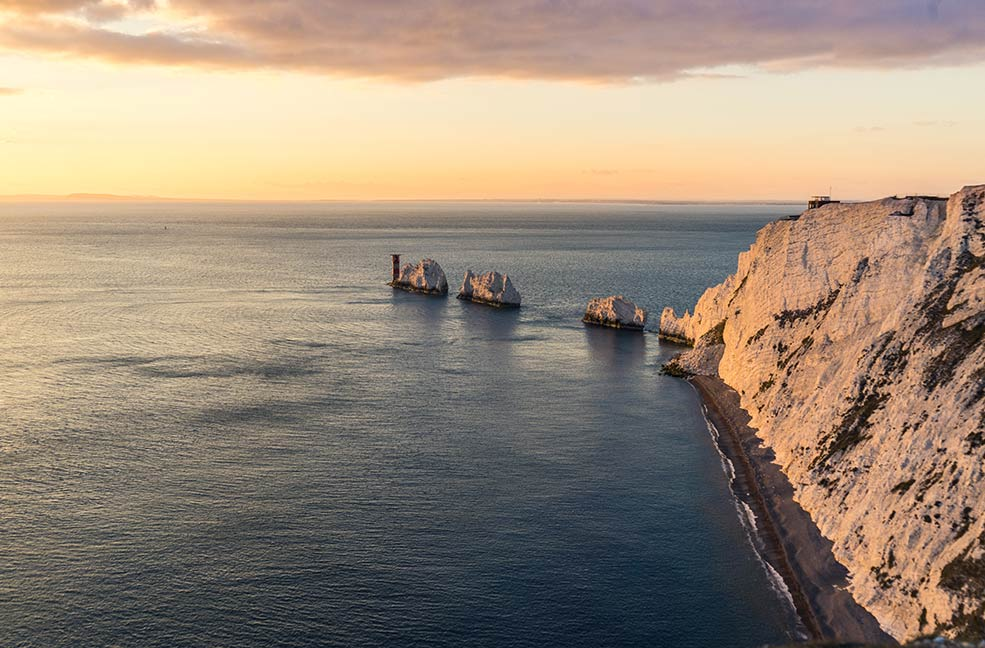 The iconic Needles are a must-see for any Isle of Wight holiday.