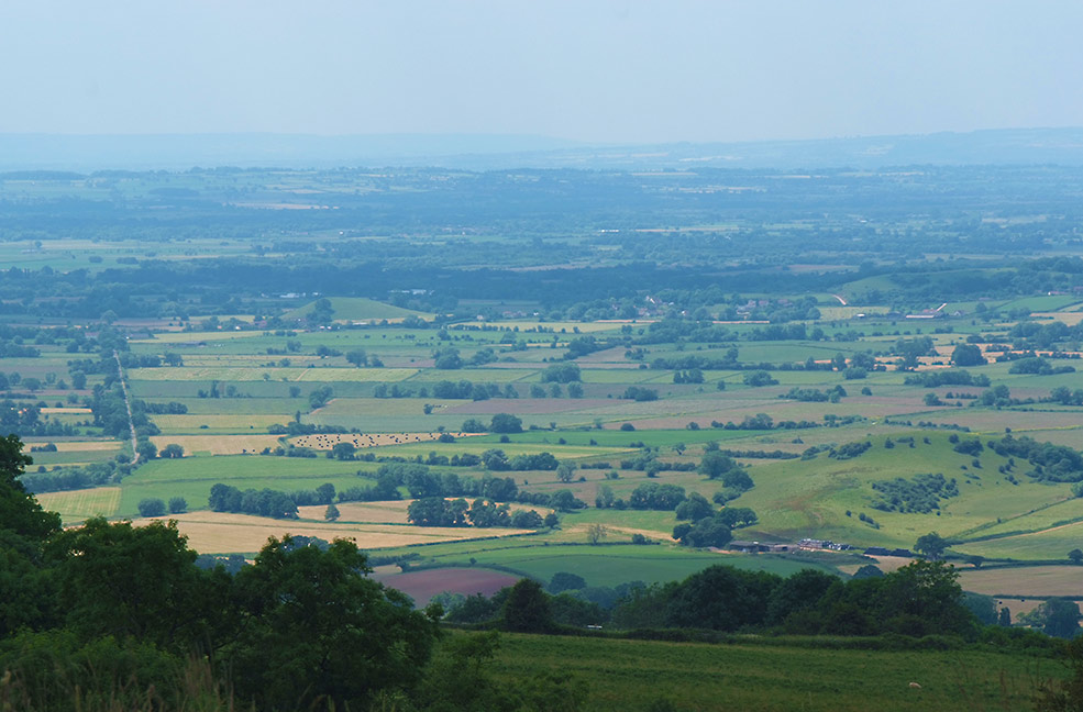 View from the Mendips | Somerset