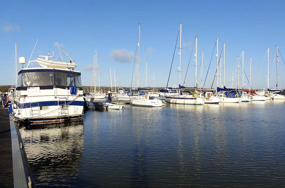 Island harbour marina