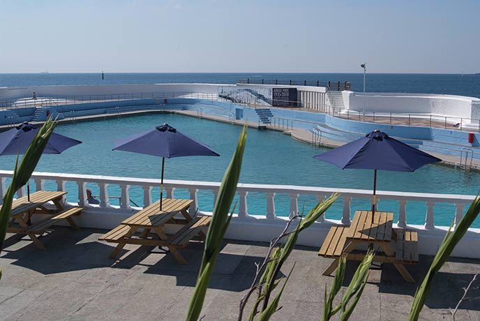 Jubilee Pool in Penzance