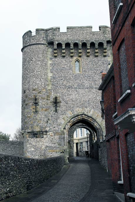 Lewes Castle was built by the Normans.