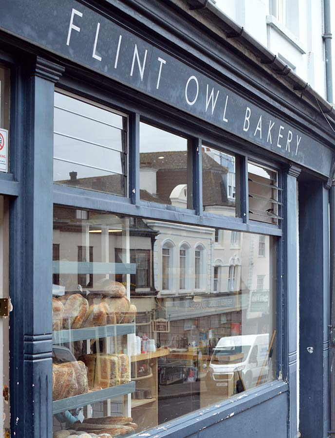You must visit Flint Owl Bakery when you're in Lewes.