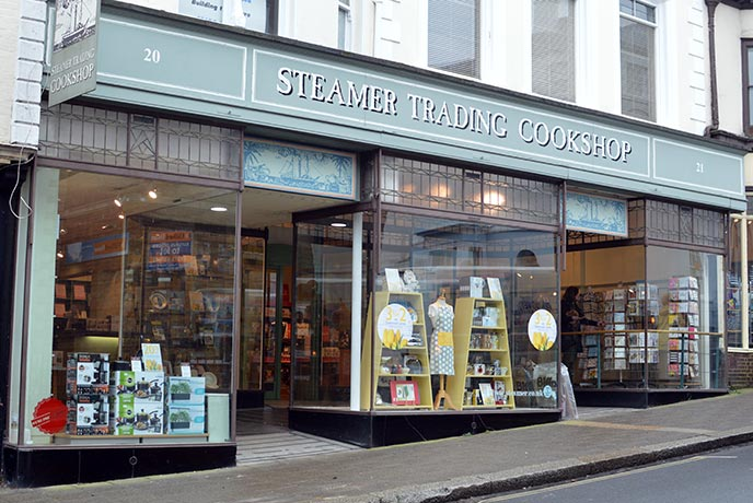 Lots of small shops make Lewes a great place to search for your own treasures.