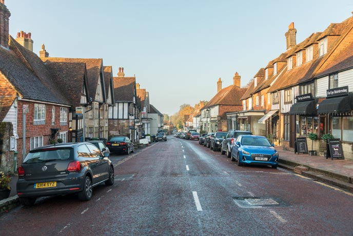 Mayfield is a lovely village in the High Weald AONB.