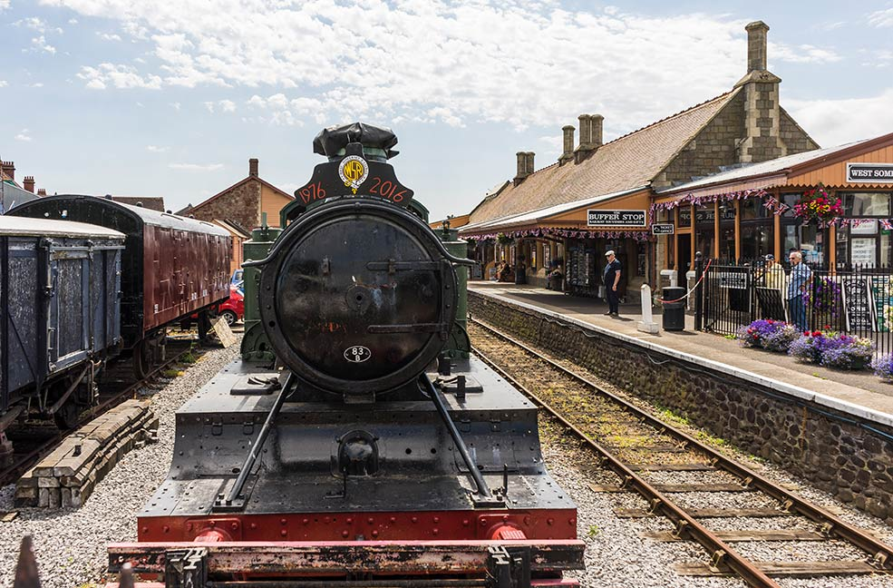 West Somerset Railway steam train