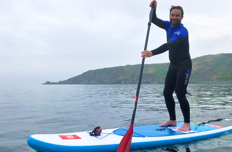 Paddle Boarding | Porthallow | SUP in a Bag