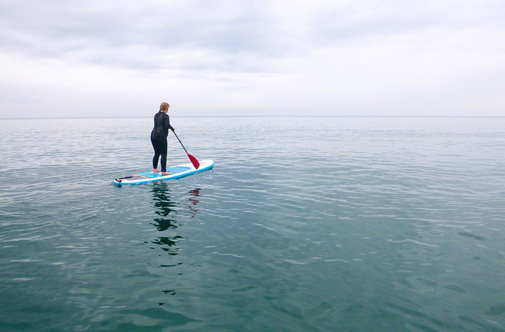 Horizon bound | Paddle Boarding | SUP in a Bag