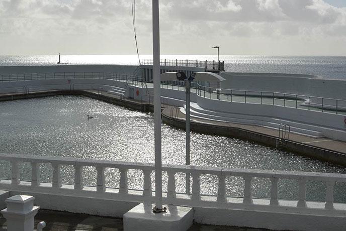 Jubilee Pool in Penzance Cornwall