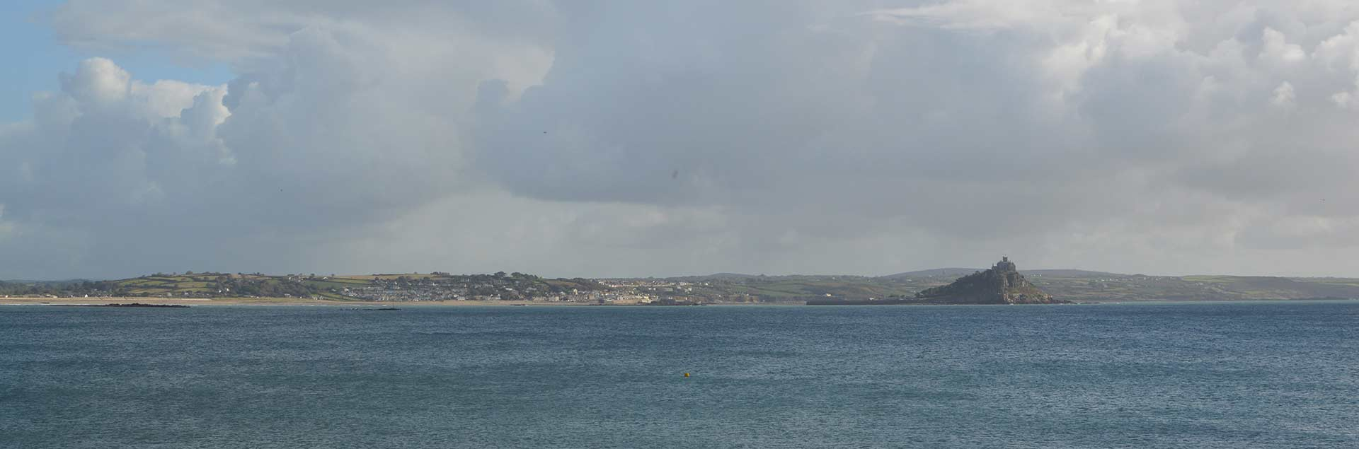 Mount's Bay view from Penzance Cornwall