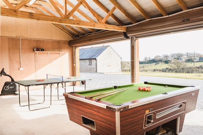 Trevorian Barn indoor sports