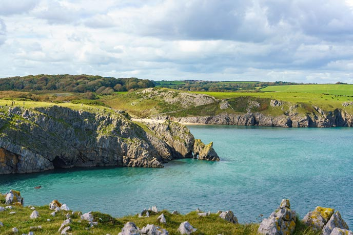Barafundle, Pembrokeshire, Wales