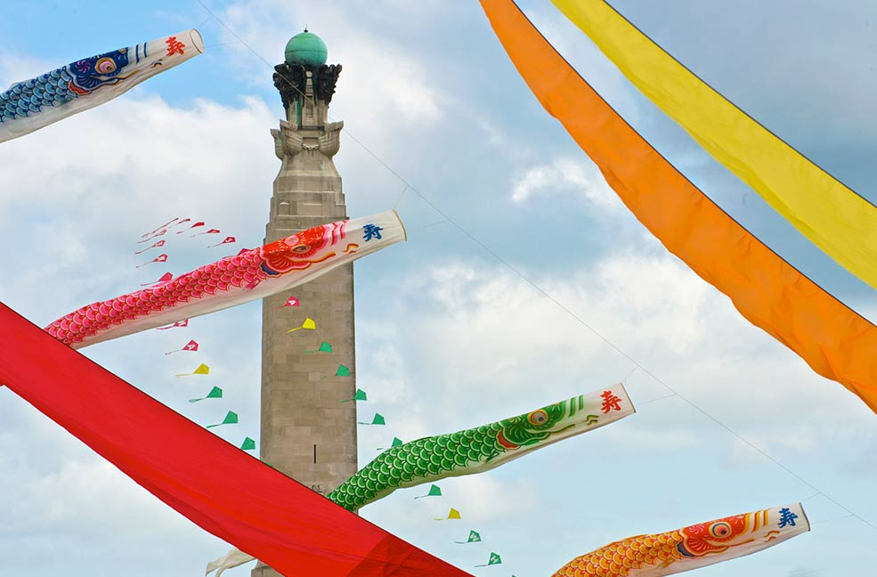 Portsmouth International kite festival sees people from around the world come to Hampshire for this amazing spectacle.
