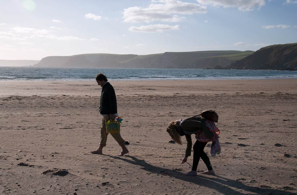 This south Devon beach is perfect for a walk in the sunshine.