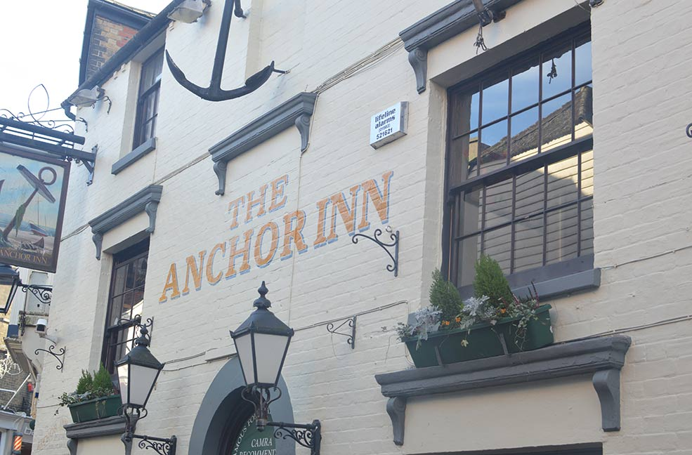 The Anchor Inn in Cowes.