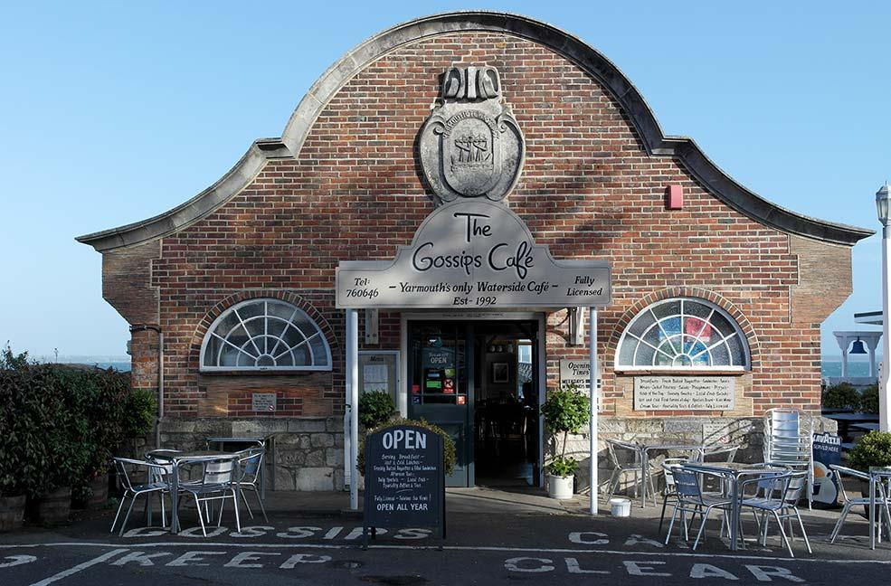 Gossips Cafe Yarmouth