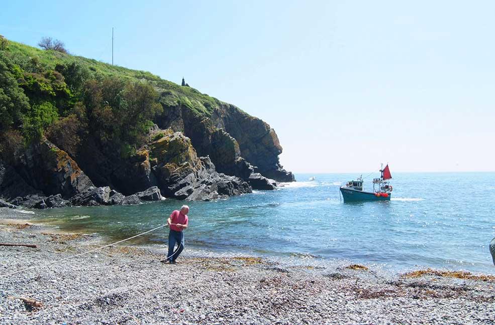 Nigel Legge Boat Trips, Cadgwith, Cornwall