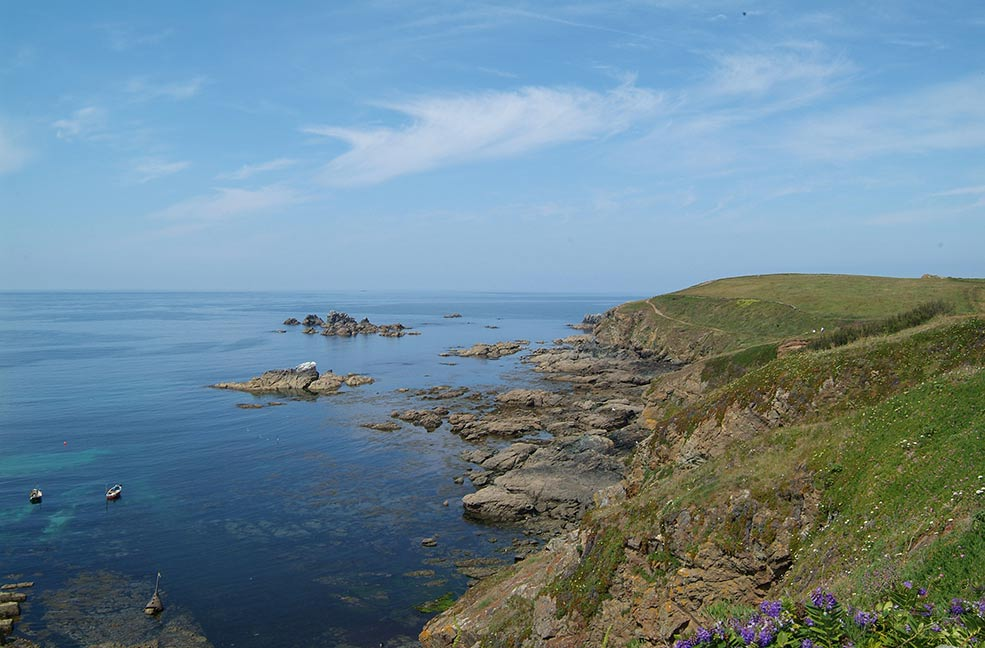 The Lizard coast path