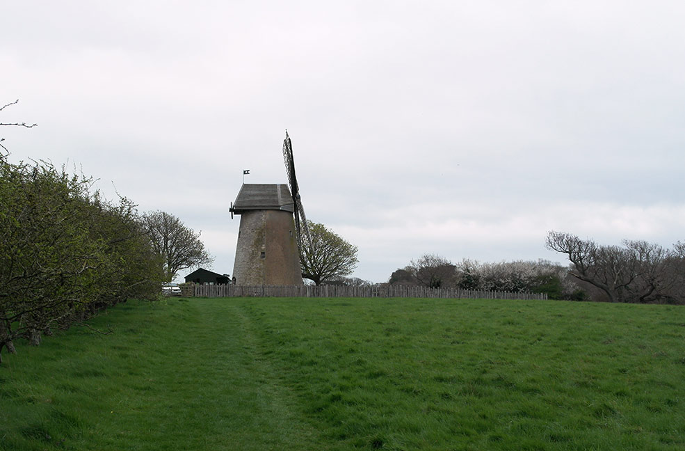 Bembridge Windmill on the Isle of Wight.