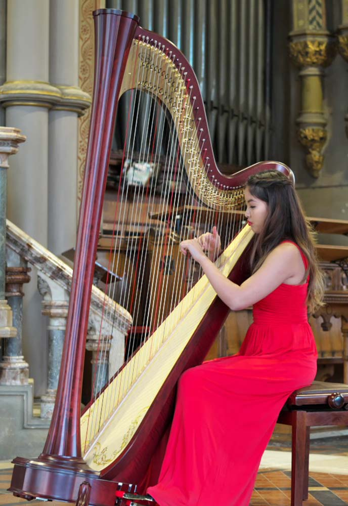 Treat your ears at the amazing Harp festival on the Isle of Wight.