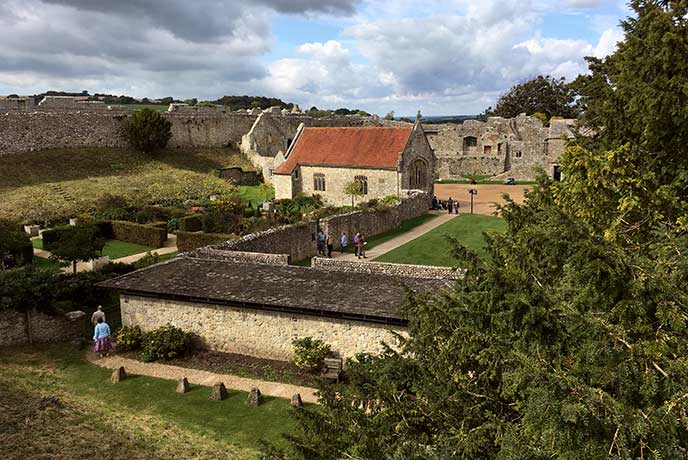 Step back in time at Carisbrooke Castle, an historic location brought to life by English Heritage.