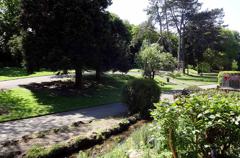 An award winning park sheltered between the sea and a cliff. Take yourself on a tranquil walk through the green gardens of Ventnor Park.